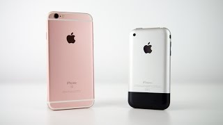 One of Canoopsy's most viewed videos: iPhone 6s vs The Original iPhone (The First iPhone/iPhone 2G)