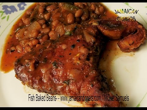 FISH BAKED BEANS recipe