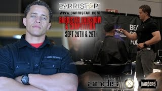 Burbank Barristar Student Hairshow Highlights | Men's Barbering Class by Andis Artist Dave Diggs