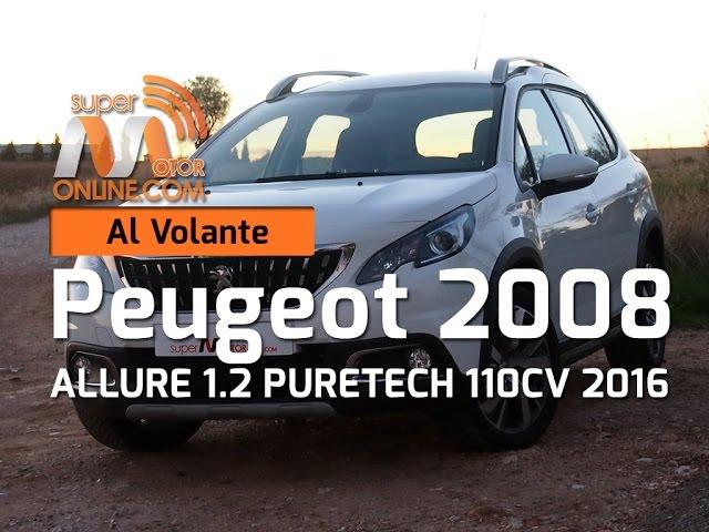 Peugeot 2008 2016 / Al volante / Prueba dinámica / Review / Supermotoronline.com