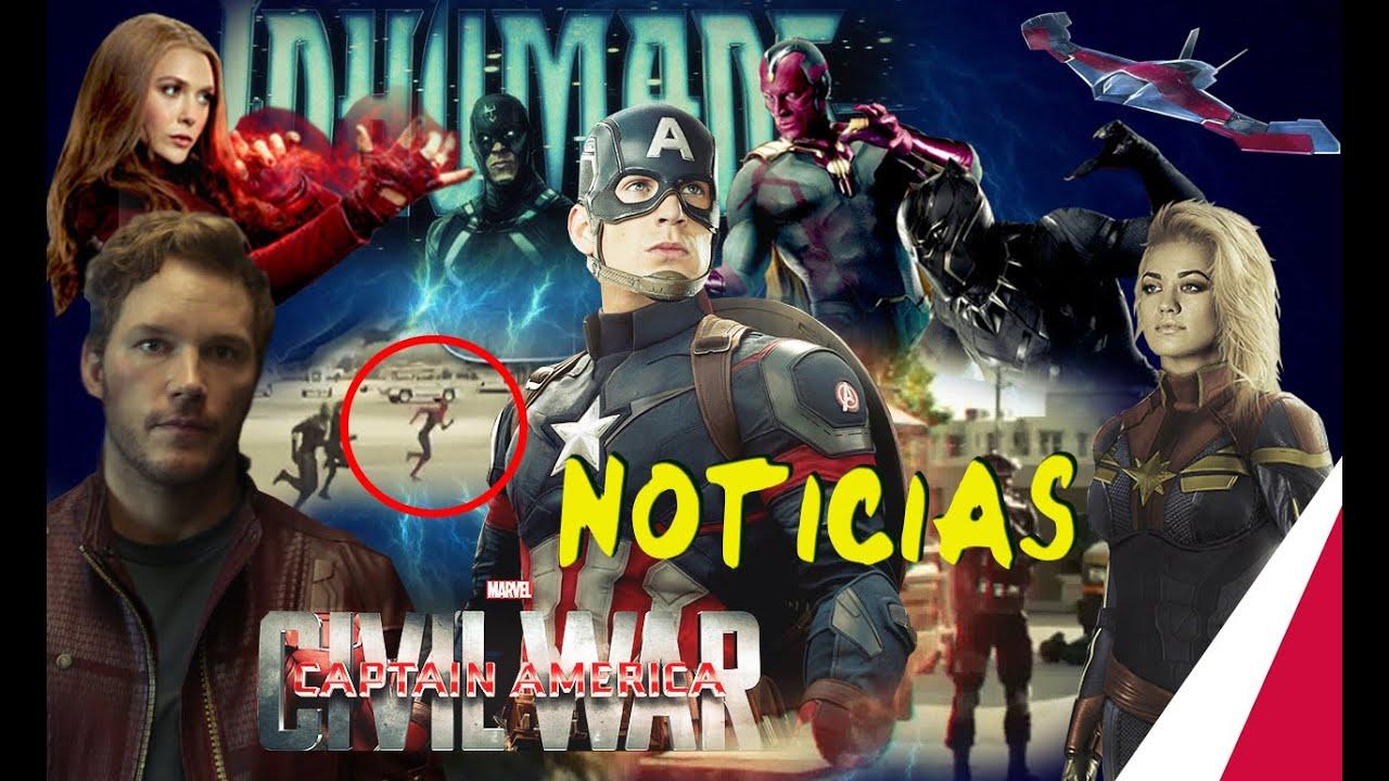 #3 Ultimas Noticias: Clip Civil War, Escuadrón Suicida