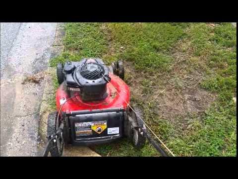 briggs and stratton 550 ex lawn mower