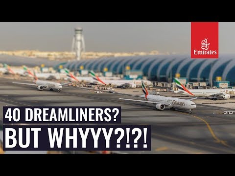 Why Did Emirates Order The 787-10 Dreamliners?