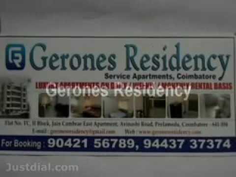 Gerones Residency Service Apartments-Coimbatore