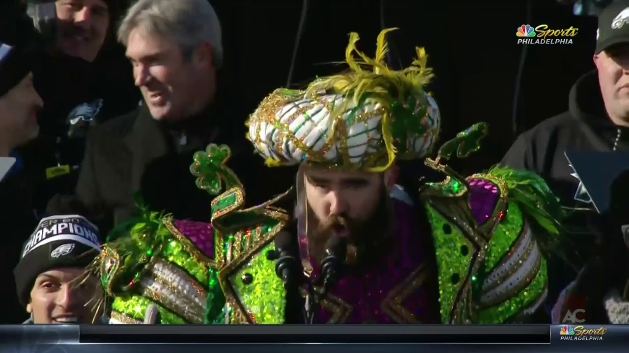 b38a861f73daed Greatest Football Speech / Rant Ever Jason Kelce Eagles Super Bowl Parade  [unedited] NSFW
