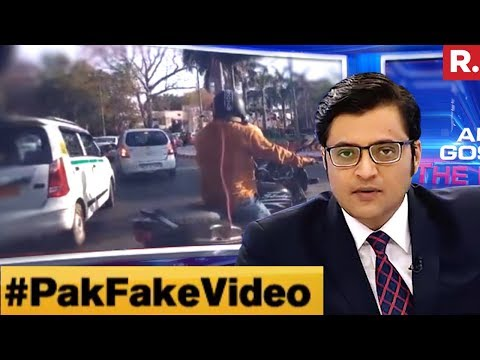 Pak Fake Video Factory Gets Active | The Debate With Arnab Goswami