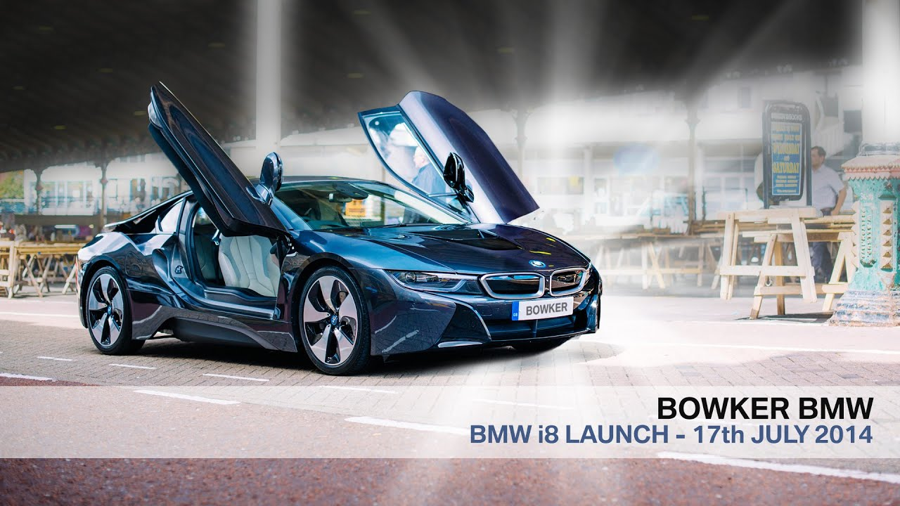 BMW Bowker  BMW i8 Launch  YouTube