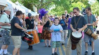 The Buddhahood - Samba March - Park Avenue Festival 2015 Day 2