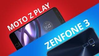 Asus Zenfone 3 vs Moto Z Play [Comparativo]