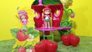Strawberry Shortcake Berry Bitty Clubhouse Hasbro Review