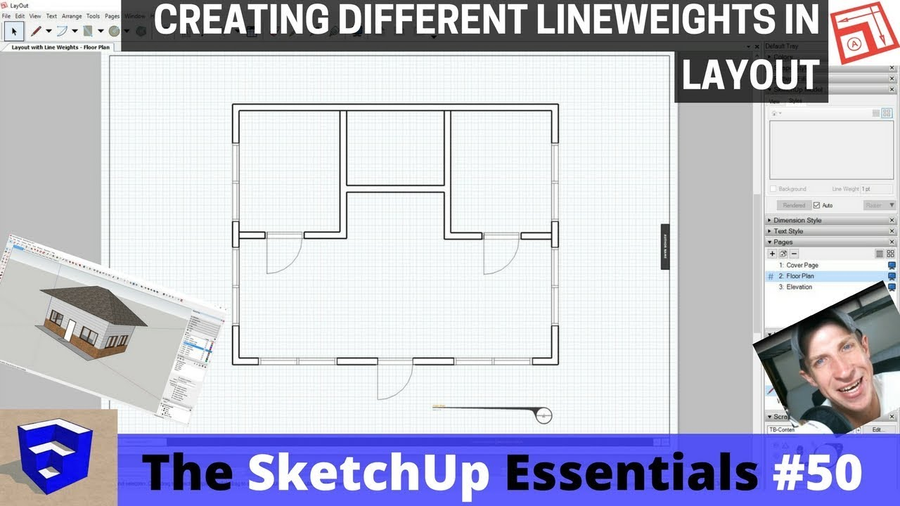 Adjusting Lineweights In Layout The Sketchup Essentials 50
