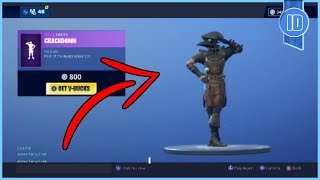 "Fortnite ""Crackdown"" Emote In Fortnite Battle Royale"