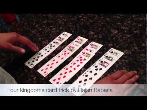 AMAZING: Four Kingdoms Card Trick