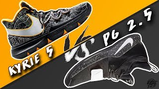 Nike Kyrie 5 vs PG 2.5!