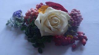 Blumen mit Wachsüberzug konservieren