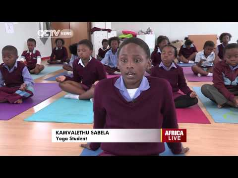 South African Kids Harness the Power of Yoga