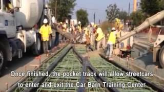 DC Streetcar: Pocket Track Pour