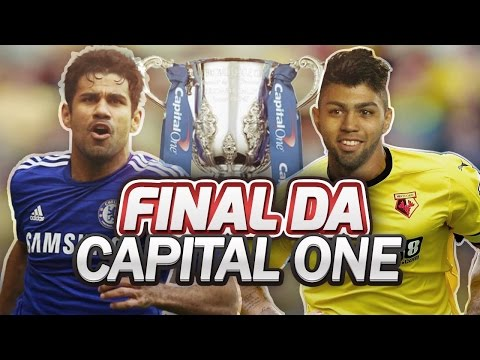FINAL DA COPA CAPITAL ONE !!! - FIFA 16 - Modo Carreira #28