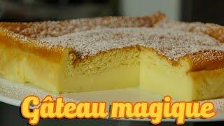 Recette facile gâteau magique à la vanille (magic cake recipe)