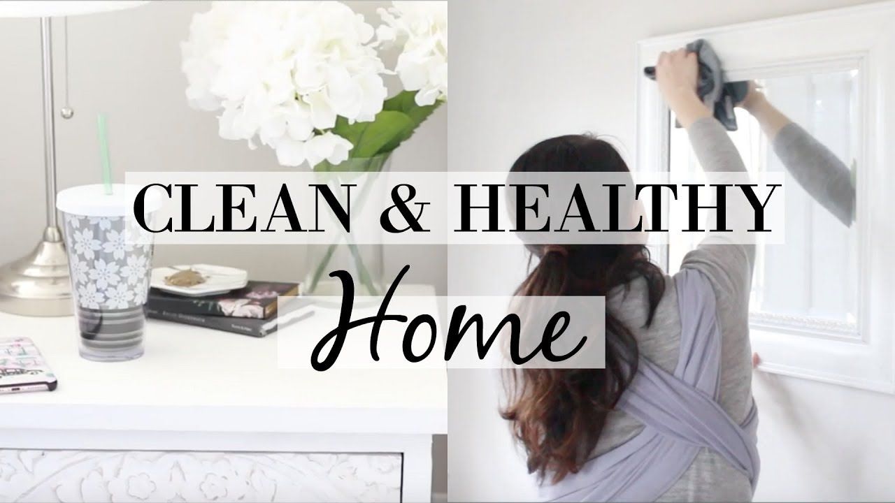 Download 5 TIPS FOR A CLEAN & HEALTHY HOME 2019! Collab w/ Elise Sheree | Natural Home Habits