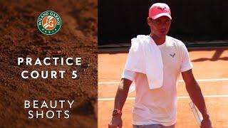 Beauty Shots #6 - Practice Court 5 | Roland-Garros 2019