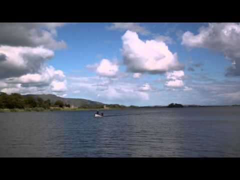 Trout Fishing Boat Loch Leven Scotland June 9th