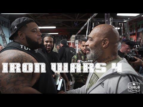 Iron Wars 4 | CT Fletcher Julius Maddox Keven Da Hulk Washington TD Smash