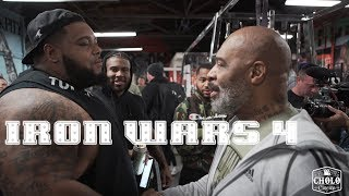 Iron Wars 4 | CT Fletcher Julius Maddox Keven Da Hulk Washington TD Smash