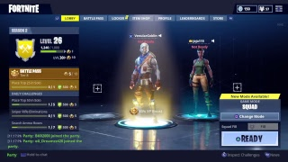 Fortnite with the squad 8