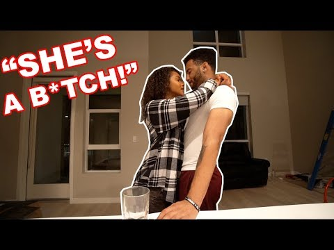 SHE CALLED MY EX THE B WORD AND TRIED TO SNEAK A KISS ON ME!! | The Aqua Family