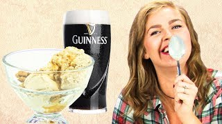 Irish People Taste Test Alcoholic Ice Cream