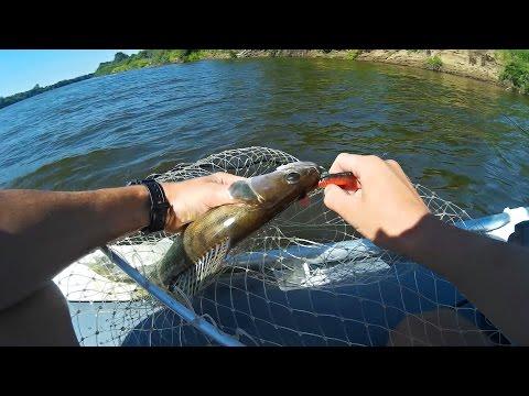 Ловлю Судака на Джиг | Клёв Судака | Рыбалка на Спиннинг 2016 (Fishing Video of Predator) - MF №73