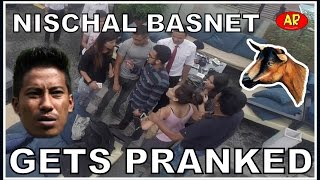 NISCHAL BASNET GETS PRANKED
