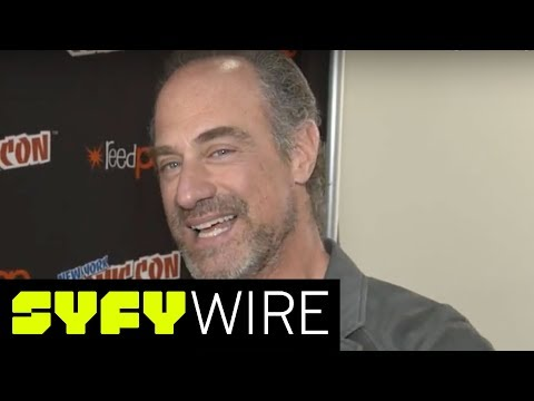 Christopher Meloni on Why His New  HAPPY! is Nuts  New York ComicCon 2017  SYFY WIRE