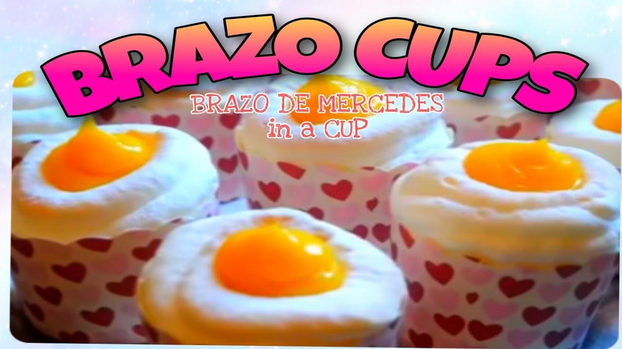 BRAZO CUPS ( BRAZO DE MERCEDES IN A CUP )