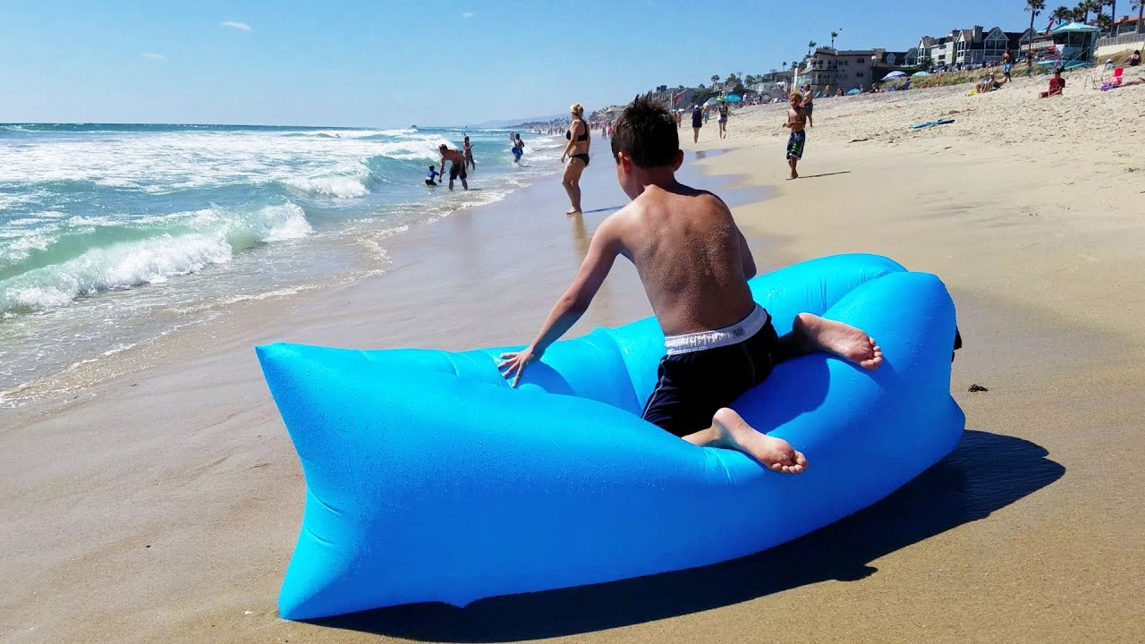 Quot Lazy Bag Quot Portable Inflatable Lounger Review How To