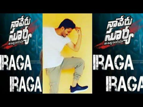 Iraga Iraga full song dance video   Naa Peru Surya Naa illu India   Allu Arjun   Ramesh RJ  