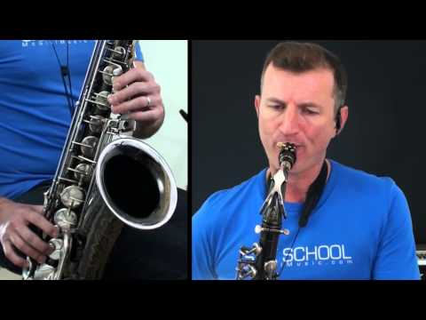 Blue Moon jazz ballad for  Tenor Sax - from McGill Music Sax School online saxophone lessons Travel Video