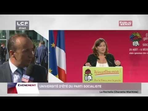 Université d'été du Parti socialiste à la Rochelle
