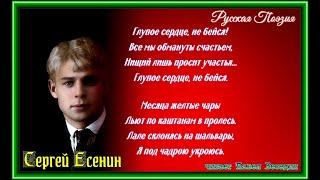 Глупое сердце не бейся—  Сергей Есенин —  читает Павел Беседин