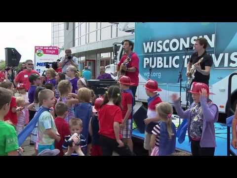 Wisconsin Public Television Get Up and Go! Day 2014 - Part 3