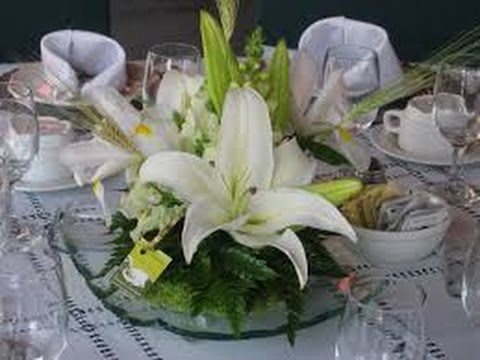Cmo Hacer Arreglos Florarales Para Bodas TvAgro por Juan Gonzalo