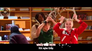 "[Lyrics+Vietsub] GLEE - Full Performance of ""Rockin"