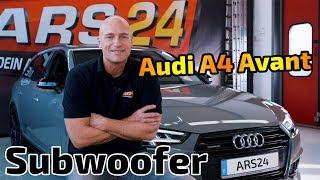 Audi A4 Avant B9 2018 | neuer Subwoofer an B&O Soundsystem | ARS24