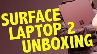 Microsoft Surface Laptop 2 UNBOXING
