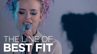 """Kyla La Grange perform """"The Knife"""" for The Line of Best Fit"""