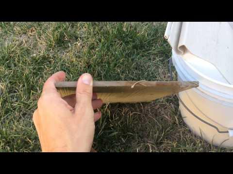 Fiber Cement vs LP SmartSide vs insulated Vinyl Siding Water bucket test