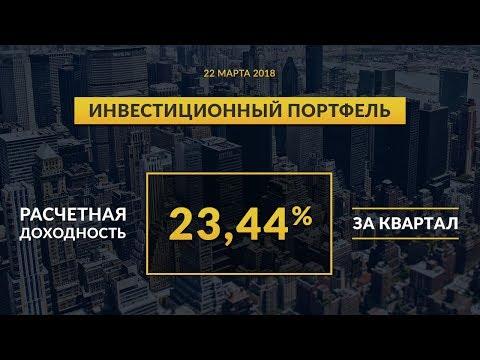 Инвестиционный портфель акций. Март, 2018   Global FInance