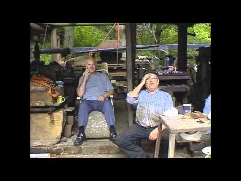 The REAL Fred Dibnah - A tea break for the Shaft diggers!