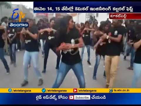 JNTU Students Organises Flash Mob | Manjeera Mall | Kukatpally